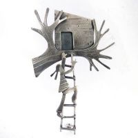 Becky Crow Treehouse Brooch